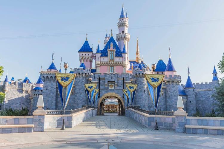 Palm Springs to Disneyland is 100 miles