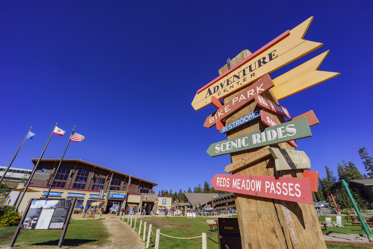 Mammoth Adventure Park signa