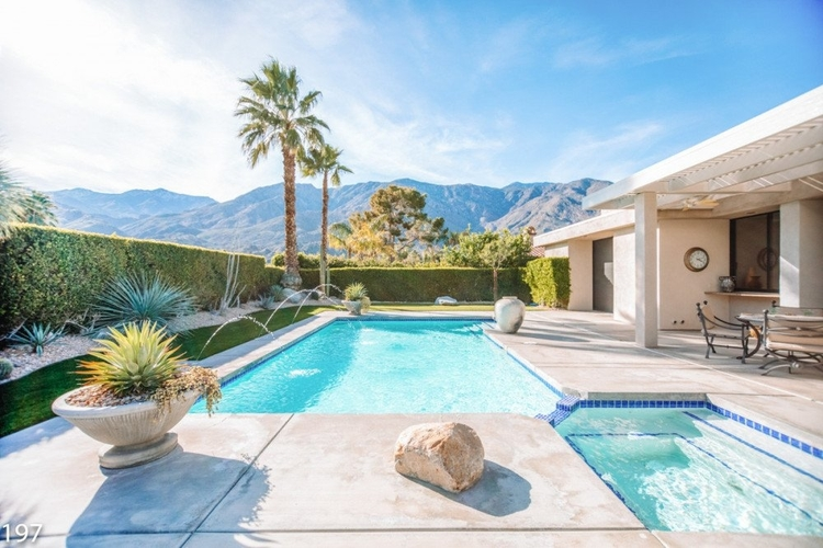 The best villa pools in Palm Springs