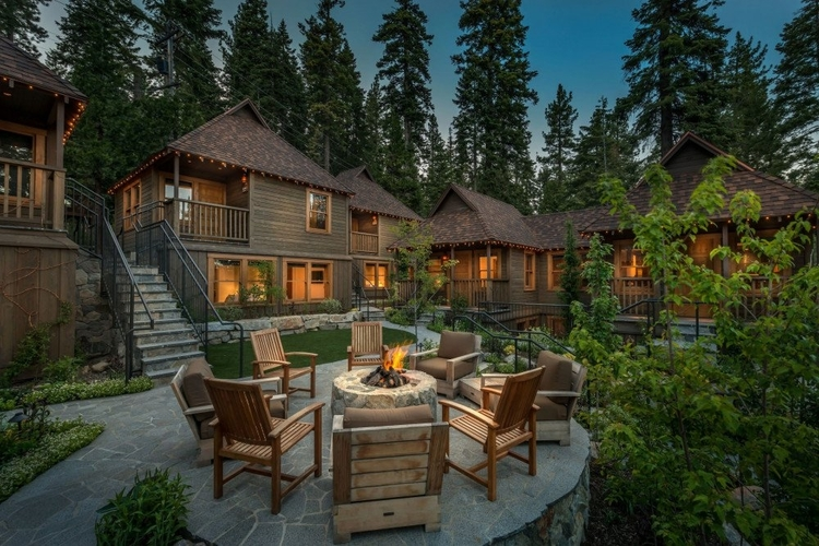 Lake Tahoe cottages and cabins are cozy and comfortable