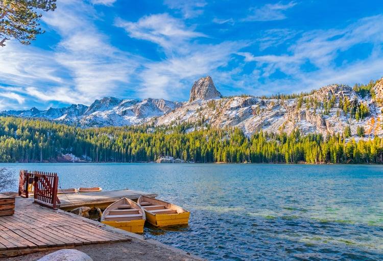Lake George, Mammoth CA