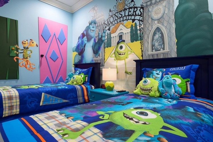 Monster themed kids room in RR 457