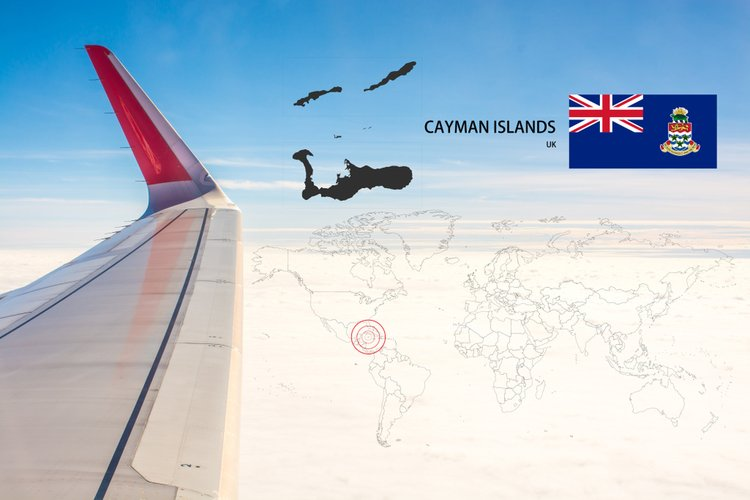 Map of Cayman Islands (KY)