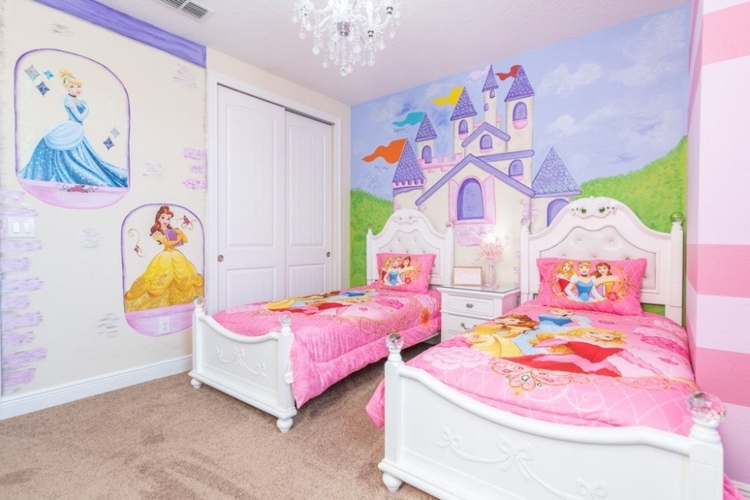 Encroe Resort 934 princess themed room