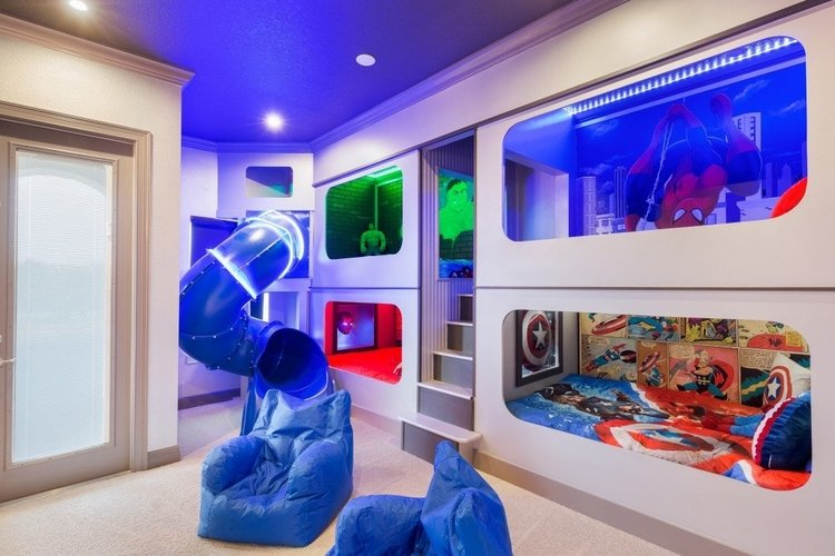 Orlando vacation rentals with themed rooms