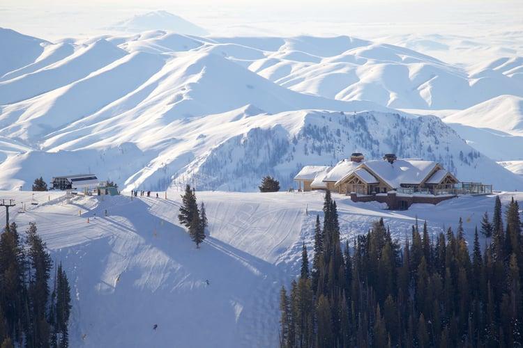 Sun Valley mountain scenery