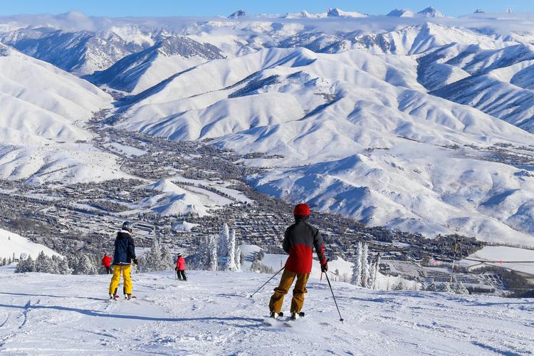 Baldy Mountain Idaho skiing