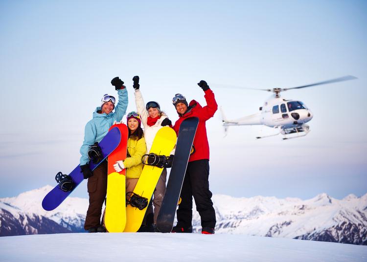 Heli-skiing USA