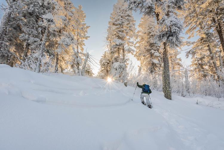 Snowshoeing USA, Boise nr Idaho