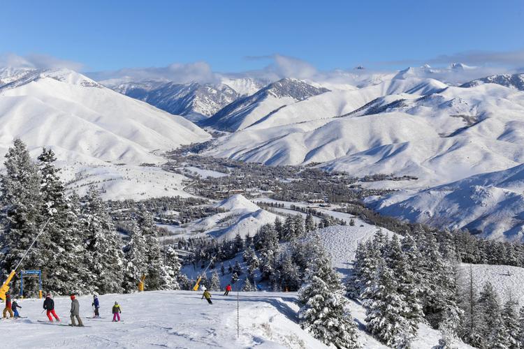 Idaho downhill skiing