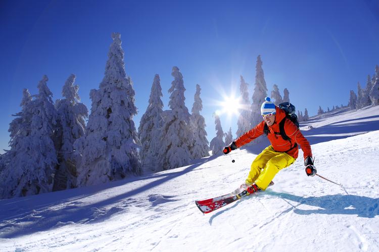 Downhill skiing Colorado