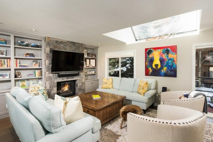 Aspen 14 living room