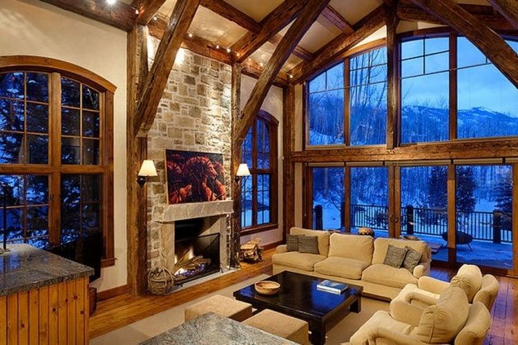 Snowmass 14 fireplace