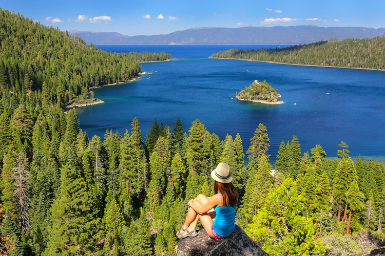 Summer on Lake Tahoe