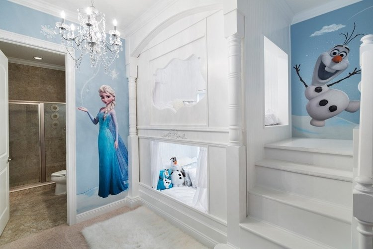 Orlando vacation rentals with Disney themed rooms