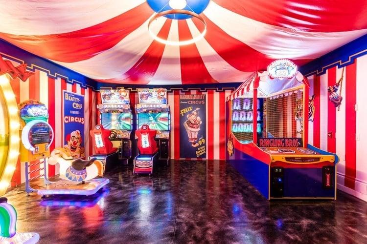 Orlando villas with games rooms