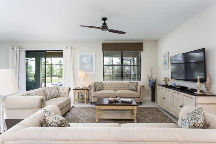 Championsgate 131 living room