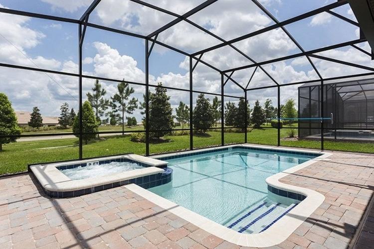 Pool view Championsgate 131