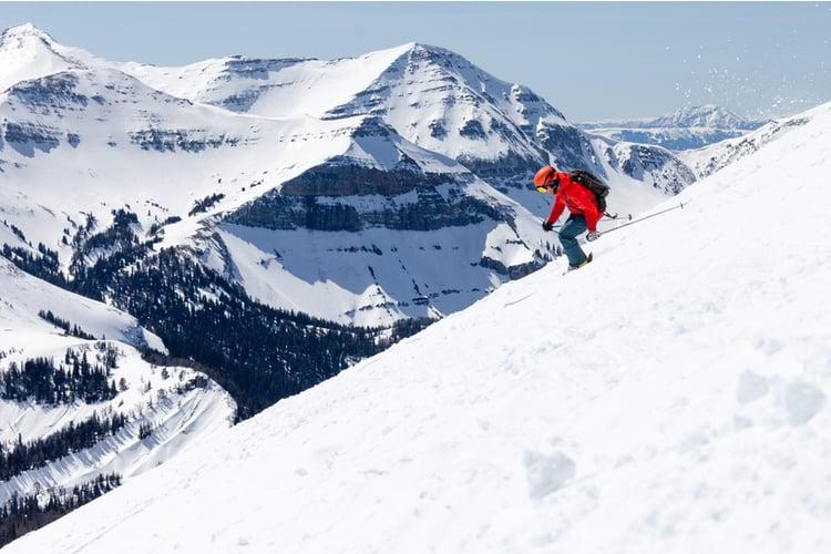 Skiing in Big Sky Montana