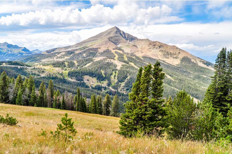 Hiking trails in Big Sky