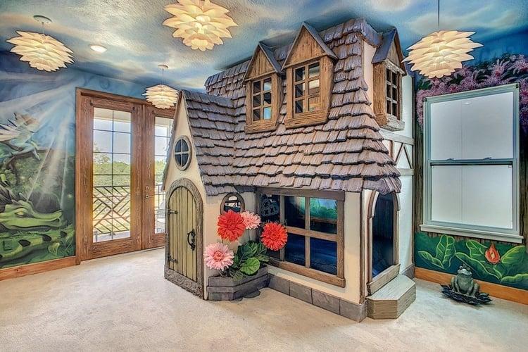 Fairy themed kids room