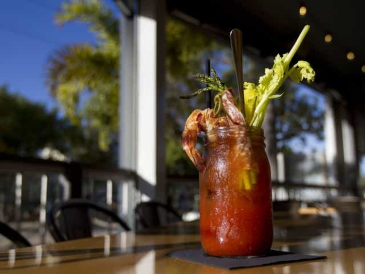 Bloody Marys at Corksoakers in Cape Coral