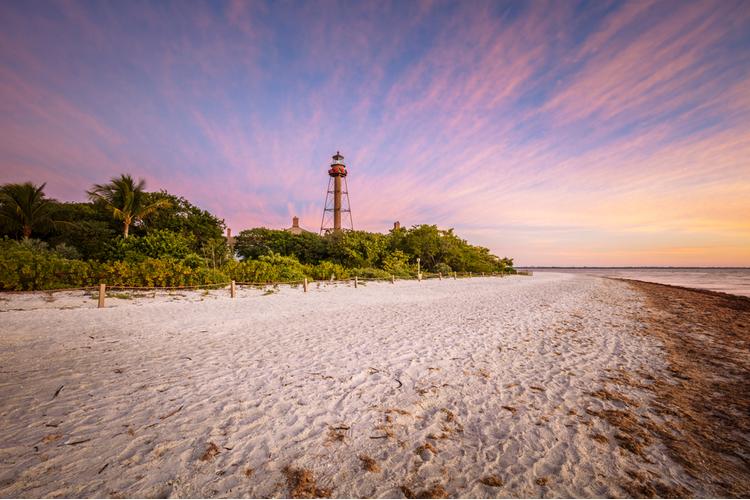 Sunset on Sanibel Island Florida