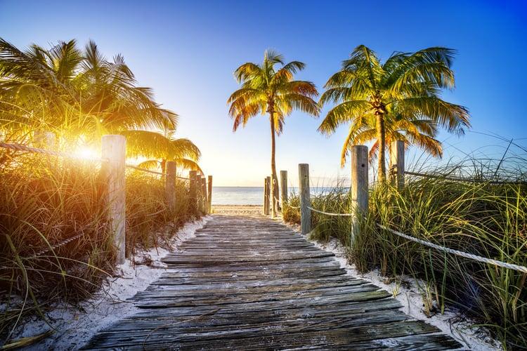 Palm Beach boardwalk