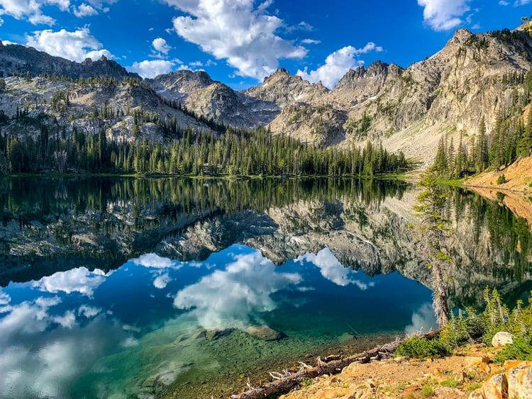 Idaho lake scenery