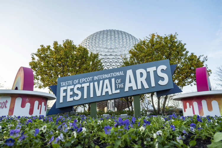 Festival of the Arts at Epcot 2021 is a great place to spend Valentine's Day in Orlando