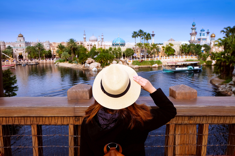 Tourist at Universal Studios where exciting Valentine's Day adventures can be enjoyed in 2021