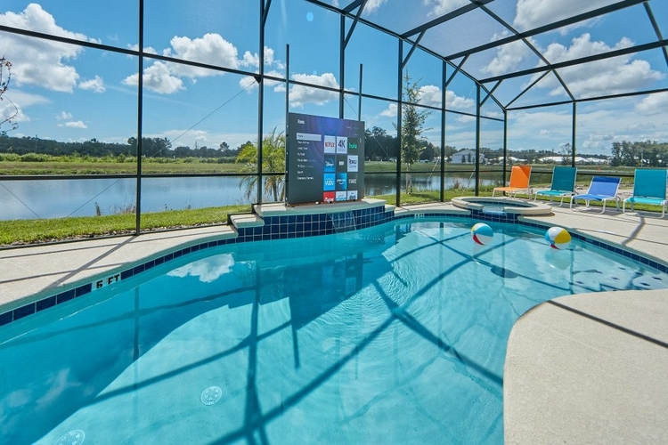 Beautiful vacation rentals with a pool