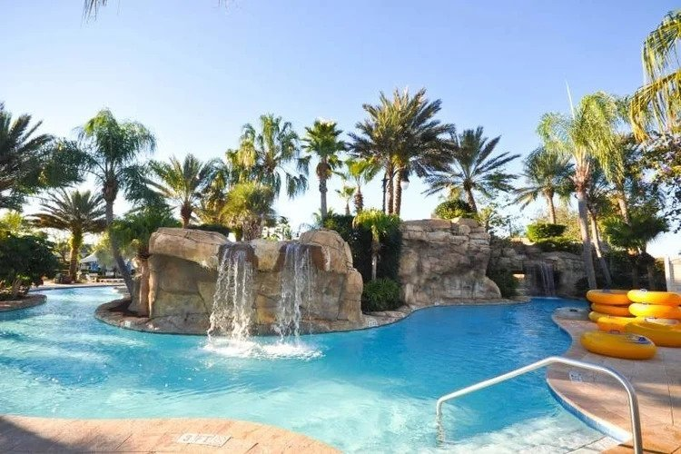 Orlando resorts with water parks and lazy river, Reunion Resort