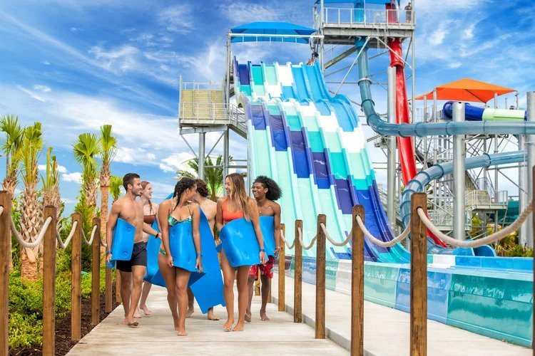 H2O Live! Margaritaville water park - this is one  of the most popular Orlando resorts with water parks
