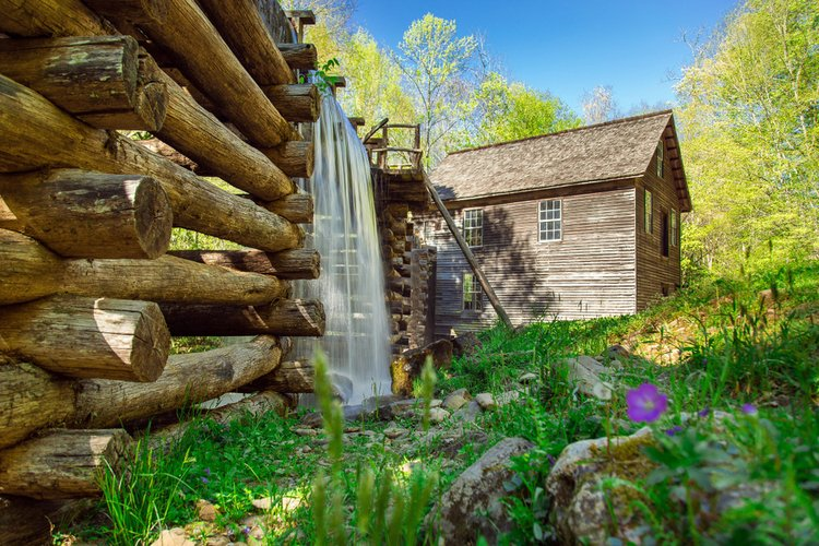 Historic buildings in the Great Smoky Mountains