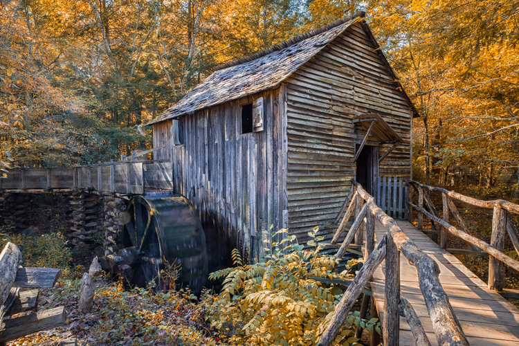 John Cable Grist Mill Great Smoky Mountains