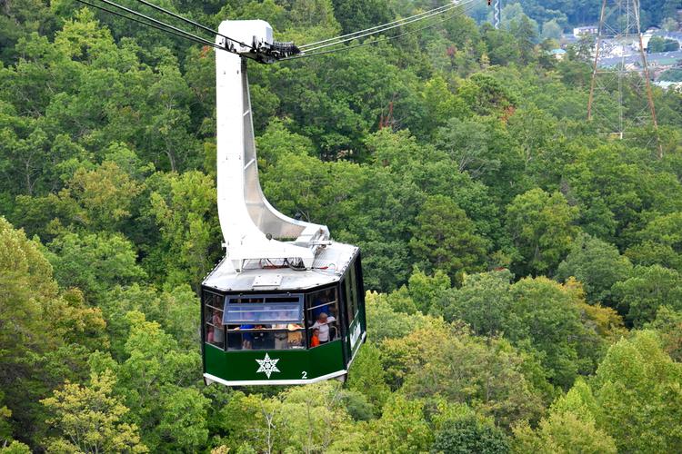 Ober Gatlinburg Aerial Tramway Great Smoky Mountains