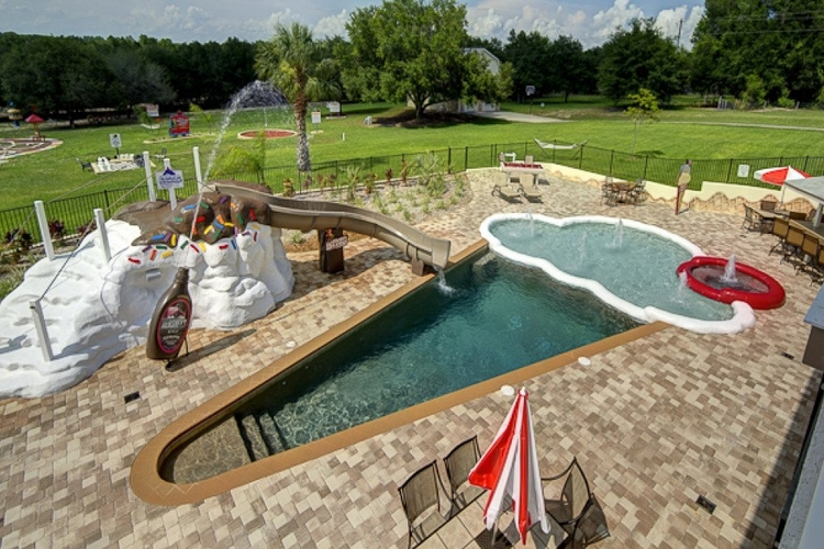 5 Acre Private Gated Estate is one of our incredible themed Orlando villas with waterslides