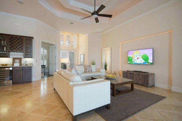 This home is just a short distance from the pet-friendly beaches on Sanibel Island
