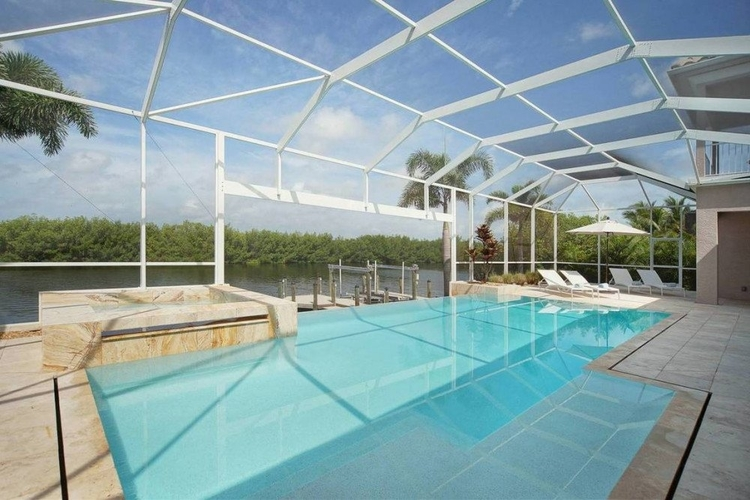 All of our pet-friendly vacation rentals in Cape Coral have private boat docks
