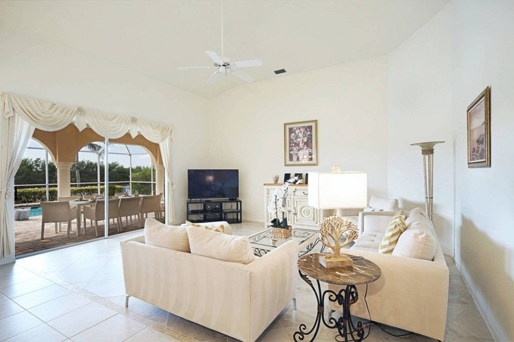 This open-plan living area is great for family time