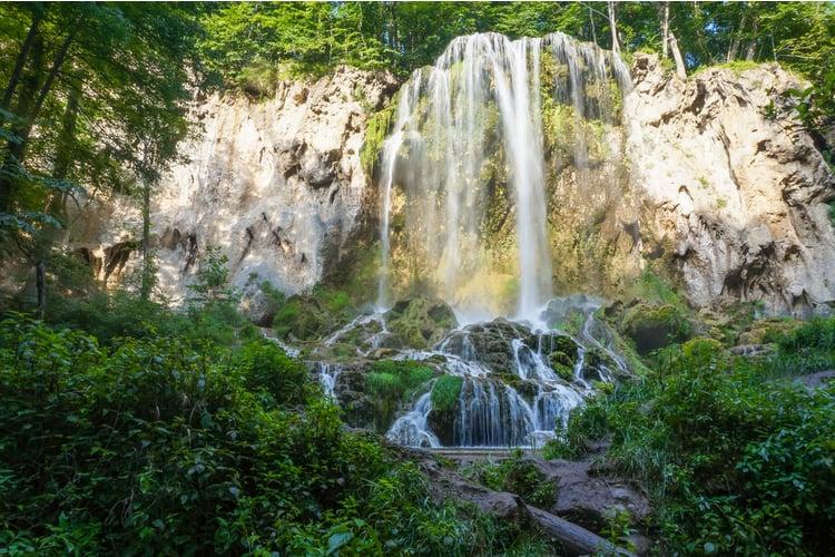 Visit Falling Spring Falls in Hot Springs, Virginia
