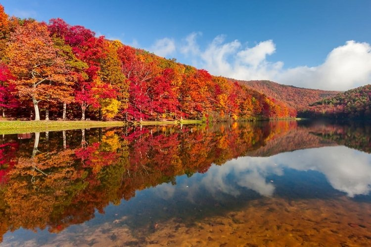 George Washington National Forest is just a short drive from Hot Springs, Virginia
