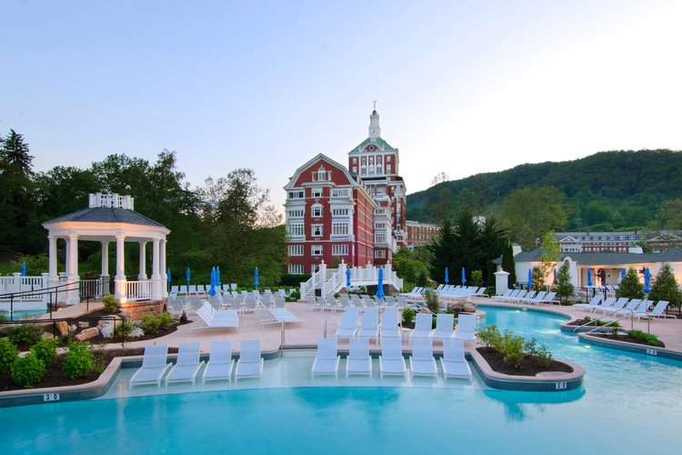 Visiting the thermal springs is top of our list for things to do in Hot Springs, Virginia