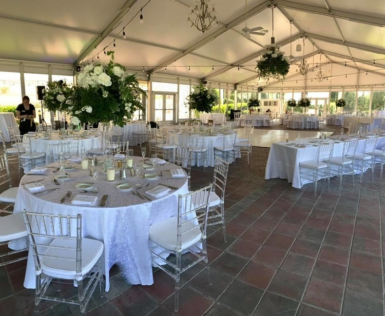 The Pavilion at Reunion Resort is a fabulous large indoor wedding venue in Orlando