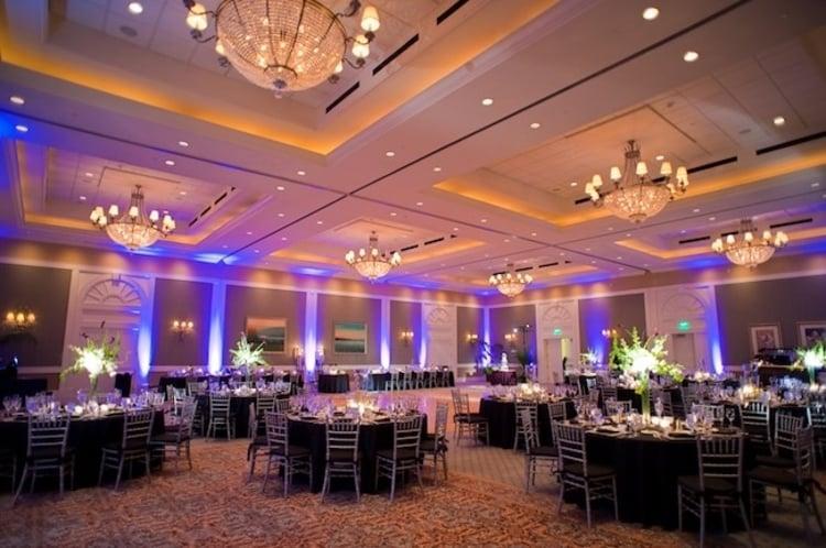 The Grande Ballroom hosts large indoor wedding venues in Orlando