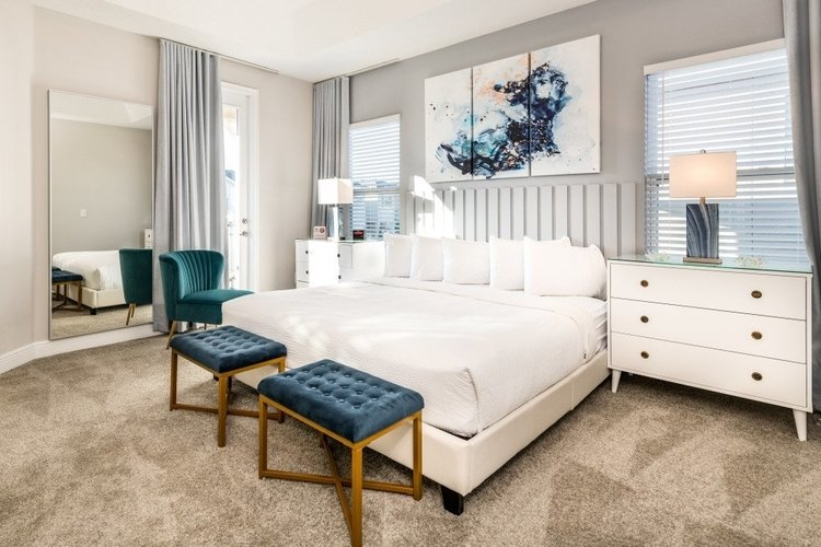 Kendal Rich was impressed by the master suite at Encore Resort 443
