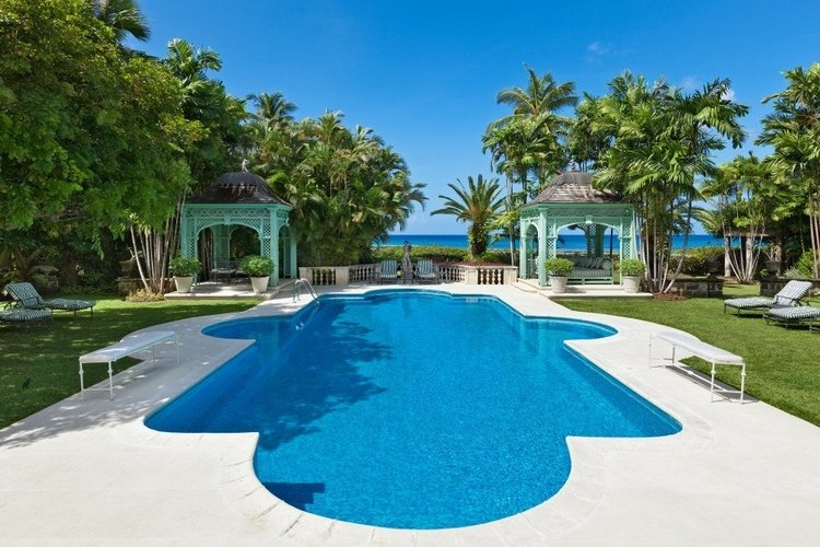 Leamington is one of the most beautiful Caribbean villas with private chefs and butlers
