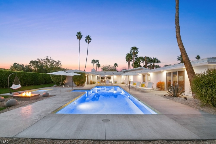 Palm Springs is a luxurious feeling road trip stop over.