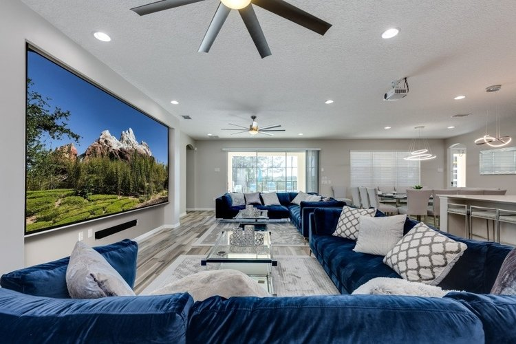 This vacation home is situated within Solterra Resort, Orlando